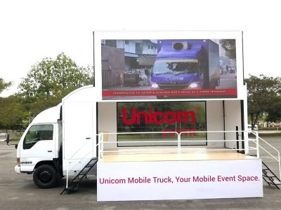 Unicom 20FT Truck with Raised LED_2